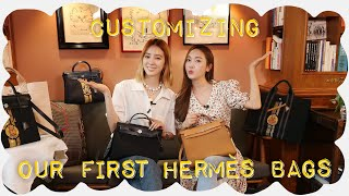 Customizing Our First Hermès Bags