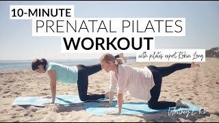 10-Minute Prenatal Pilates Workout