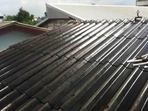 การศึกษาระบบสปริงเกอร์คลายความร้อนบนหลังคา