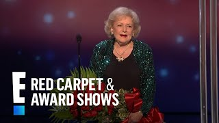 The People's Choice for Favorite TV Icon is Betty White | E! People's Choice Awards