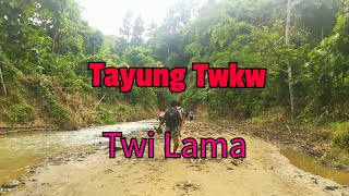 preview picture of video 'Tayung Twkw waterfall lama oh Himlai jak. Tripura, India'