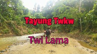 preview picture of video 'Tayung Twkw waterfall lama oh Himlai jak. Tripura, India'