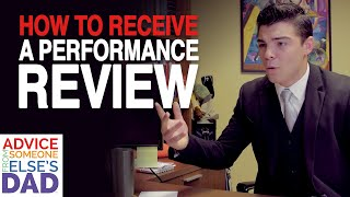 How to receive a performance review