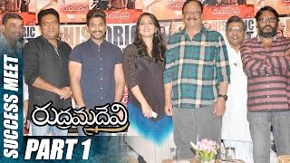 Rudramadevi Success Meet