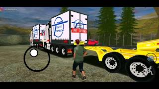 """BIGEST TRUCK ON GTA""""2 VOLVO FH16 TRAILER OVERSIZE LOAD"""" TURBINES WEIGHT 200 TONS """"GTASA ANDROID MOD"""