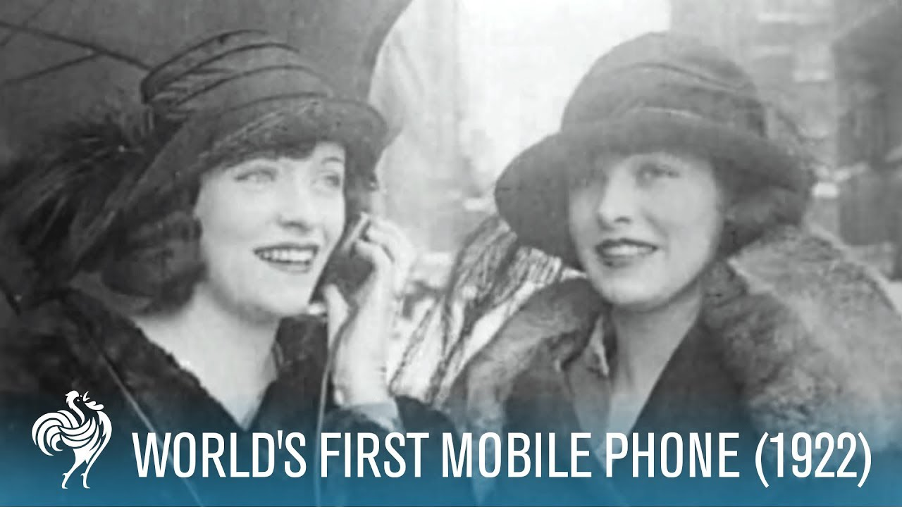 The World's First Mobile Phone Needed An Umbrella And A Fire Hydrant To Work