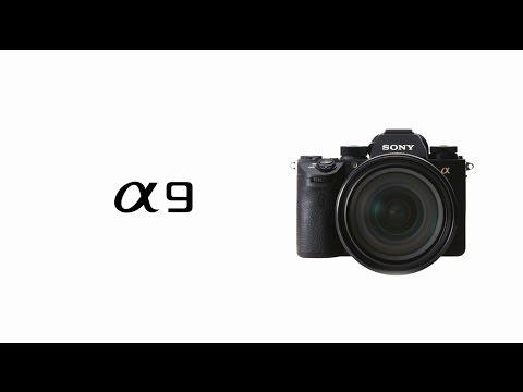 Sony A9 spegillaus myndavél Full Frame E-mount 4K video 20fps-Myndband
