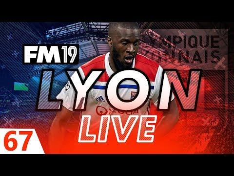 Football Manager 2019 | Lyon Live #67: Job At Risk #FM19