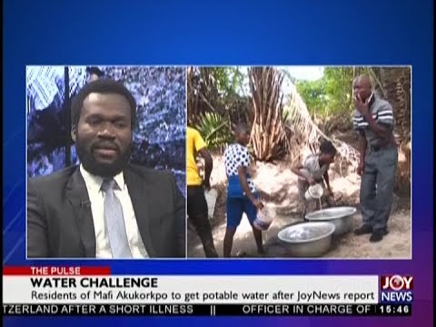 Water Challenge - The Pulse on JoyNews (20-8-18)