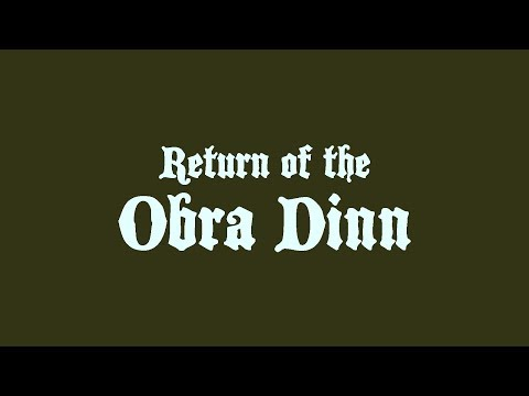 Return of the Obra Dinn - Available Now thumbnail