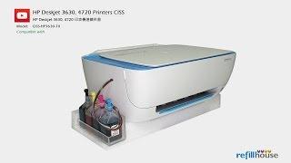 HP Deskjet 2130, 2135, 3630, 3635, 4720 CISS - HP 63, 302, 123, 803; HP 664, 680, 652; HP 46;