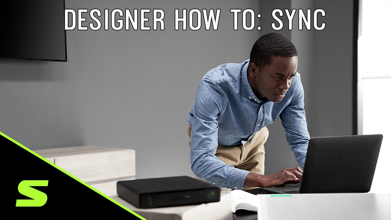 Shure Designer How To Video 5: Sync