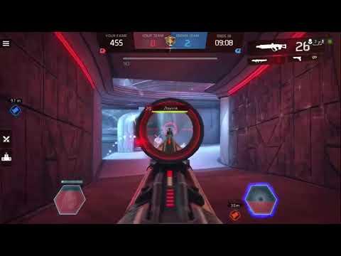 Shadowgun Legends CTF it ended up 3 v 5!