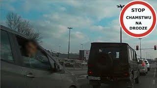Pościg ulicami Warszawy - pobicie, gaz, uszkodzenie auta #74 Wasze Filmy