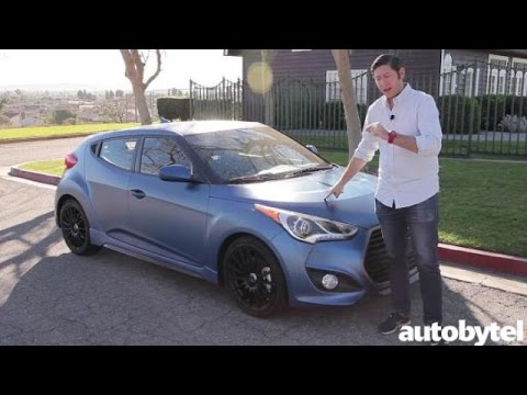 2016 Hyundai Veloster Turbo Rally Edition Video Review