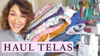 HAUL III TELAS  |  TELARIA  |  PEPITA FRITA  |  RIBES Y CASALS