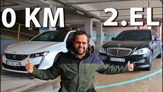Yeni 508 parasına Mercedes S Serisi alınırmı? | Aynı paraya hangisi?