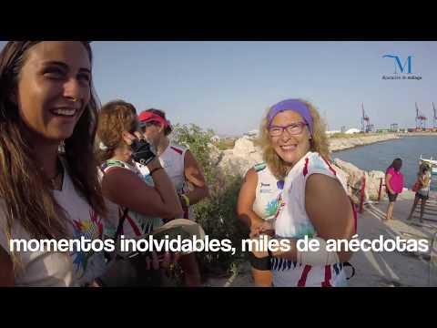 Reto + Deporte + Mujer en jábega: Málaga- Cabo de Gata