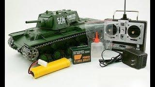 Смотреть онлайн Игрушечные танки на радиоуправлении