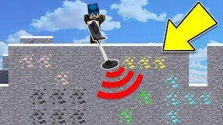 Minecraft ITA - Cerchiamo TESORI con il metal detector!!