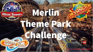 Theme Park Challenge: Visiting 4 Merlin Parks In One Day!