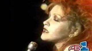 """Cyndi Lauper """"Time After Time"""""""