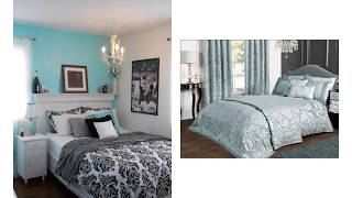 Adorable Duck Egg Blue And Grey Bedroom Ideas