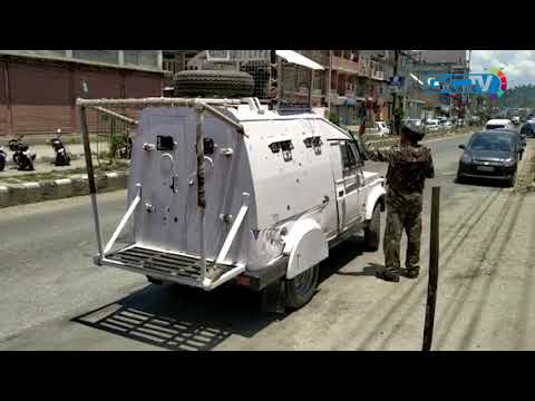 CRPF personnel fire in air after motorcycle-borne persons jump barricade in Anantnag