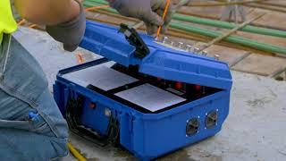 COMMAND Center Concrete Maturity & Temperature Sensors Boost Efficiency