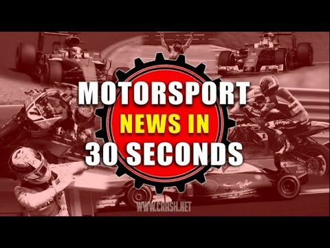 Motorsport News in 30 seconds - 7th March 2017