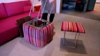 Смотреть онлайн Интересная мебель трансформер в будущем