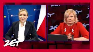 RZ Olga Semeniuk: Pierwsze pieniądze trafią na konta w ciągu kilku/kilkunastu dni.