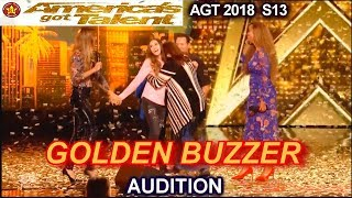 Makayla Phillips 15 yo GOLDEN BUZZER WINNER sings Warrior America's Got Talent 2018 Audition AGT