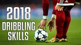 Best Football Dribbling Skills 2018 HD