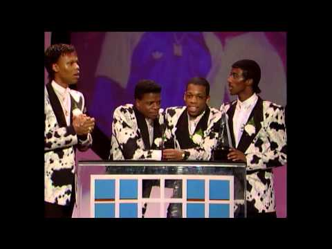 AMA 1987 New Edition Wins Favorite Soul:R&B Group