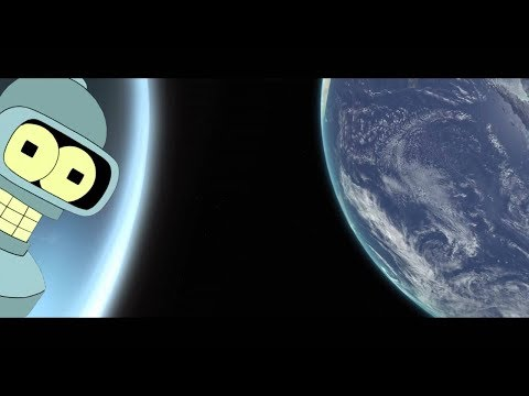 Bender as HAL 9000 in 3001 - A Space Odyssey