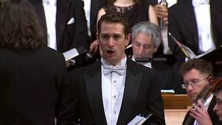 """""""Thou Art Gone Up on High"""" from Handel's MESSIAH - Christopher Dylan Herbert, baritone"""