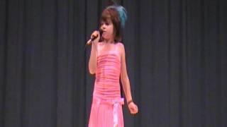 """9 year old sings """"My Hallelujah Song"""" by Julianne Hough"""