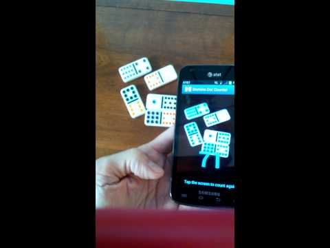 Video of Domino Dot Counter