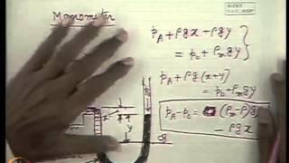 Mod-05 Lec-05 Fluid Statics Part - II