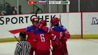 Dec 12, 2017 WJAC: Switzerland 2-3 Russia