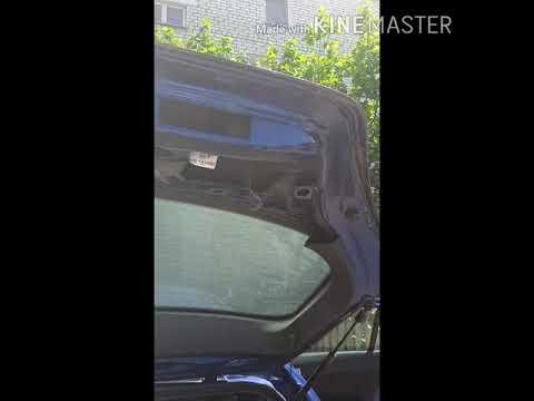 Не открывается дверь багажника Opel astra h 2004