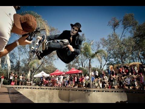 Tricks For Treats: Bucky Lasek's BOO-BQ 2012