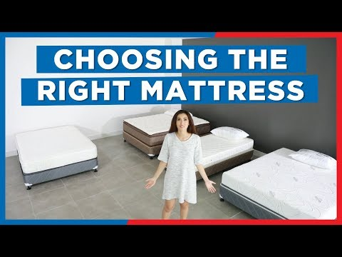 Choosing The Right Mattress - Mandaue Foam Home TV