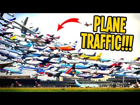 Traffic so Horky Borky even Planes are Gridlocked in Cities Skylines!