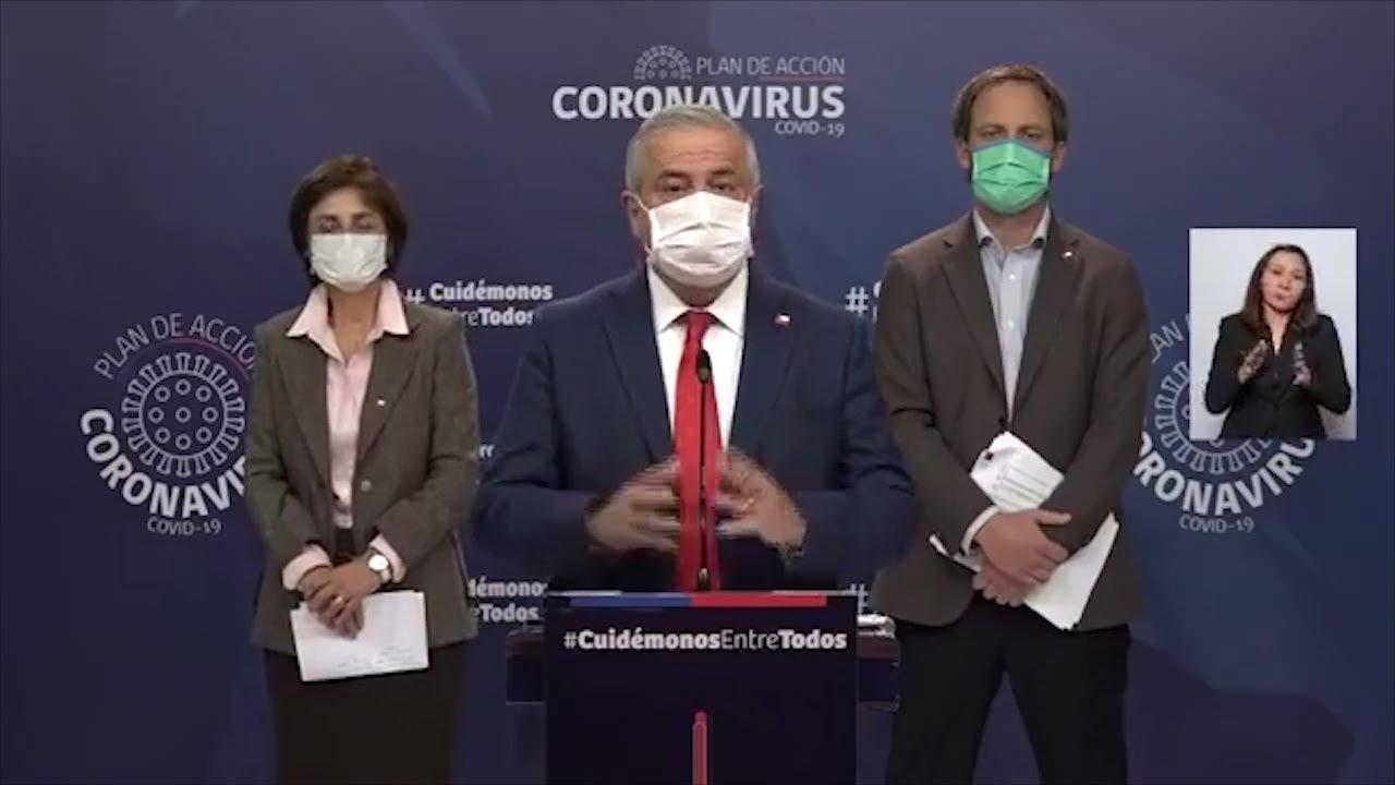 Chile  continúa con más de 2.000 contagios diarios