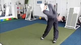 Alex Noren: Golf Swing, Slow Motion, 3W