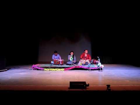 """Jee chahe toh Sheesha ban jaa"" Gazal by Antra - Meher Sparkle, MbYAS 2016 Celebration Night"