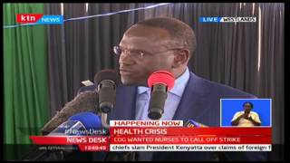 KTN Newdesk - 14th December 2016 - Council of Governors sign recognition agreement with Nurses