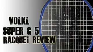 Volkl Organix Super G 5 Racquet video